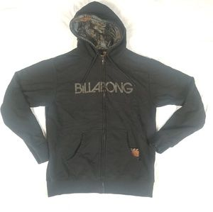 Billabong zip up sweatshirt hoodie sz XL